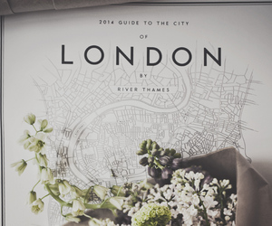 flowers, beautiful, and london image