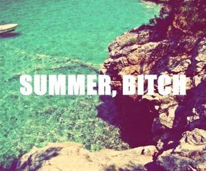 beach, bitch, and paradise image