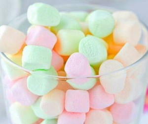 pastel, marshmallow, and sweet image