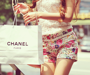 bag, outfit, and shopping image