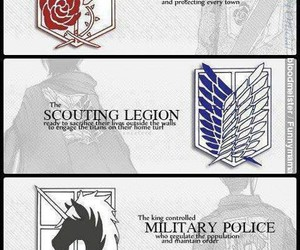 scouts, military police, and wings of freedom image