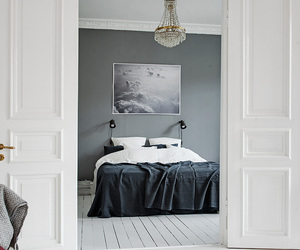 home, art, and bedroom image