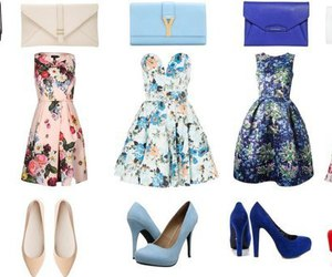 shoes, dress, and fashion image