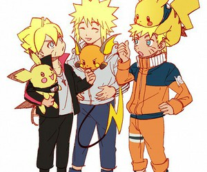 naruto, anime, and pokemon image