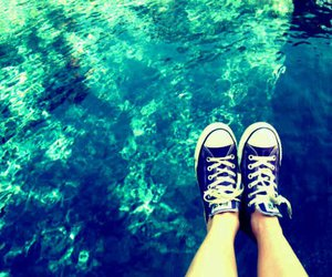converse and water image
