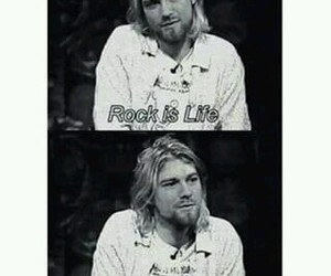 grunge, kurt cobain, and nirvana image