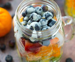 breakfast, fruit salad, and FRUiTS image