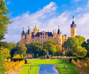 germany, castle, and wanderlust image