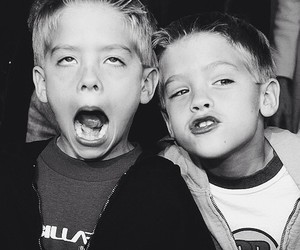 dylan sprouse, cole sprouse, and twins image