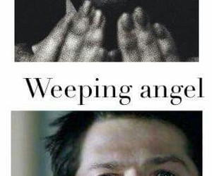 supernatural, angel, and weeping image