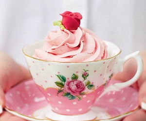 pink, food, and rose image