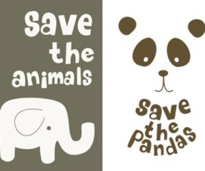 life, nature, and pandas image