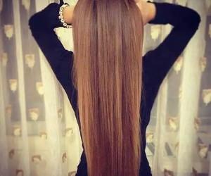 hair brunette girl beauty image