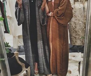 hijab, abaya, and khaleeji image
