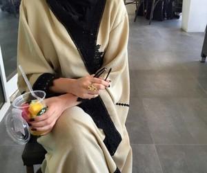 abaya, khaleeji, and hijab image