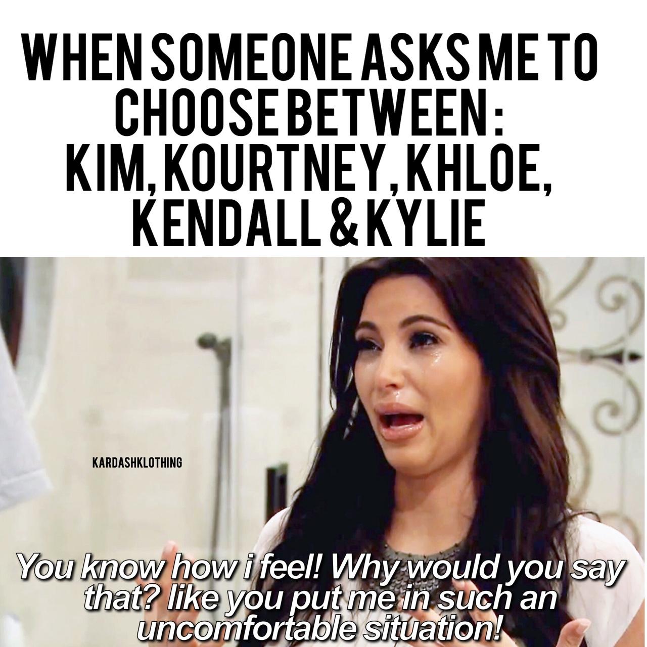 Kardashian Memes Via Tumblr On We Heart It
