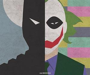 batman, joker, and the dark knight image
