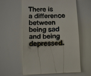 depressed, sad, and difference image
