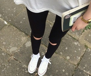thin, skinny, and outfit image