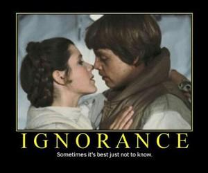 star wars, ignorance, and luke skywalker image