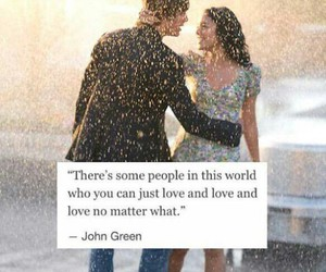 love, couple, and john green image