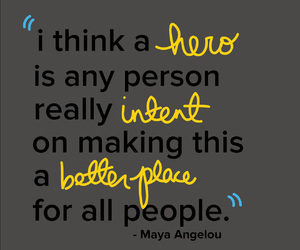 inspirational, maya angelou, and memorial image