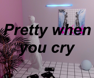 pretty when you cry and lana del rey image