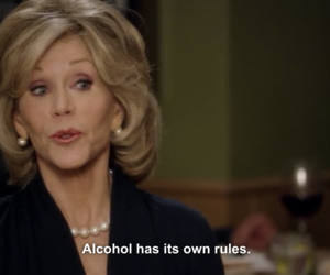 jane fonda, netflix, and grace and frankie image