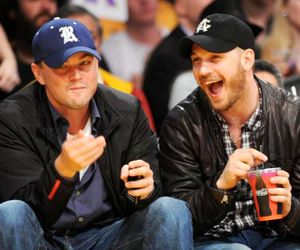 tom hardy and leonardo dicaprio image