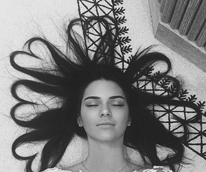 kendall jenner, hair, and instagram image