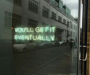 quotes, neon, and green image