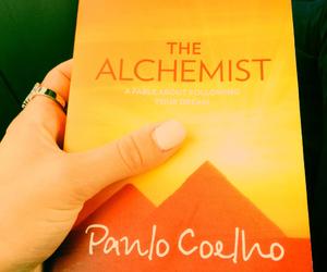 book, paulo coelho, and reading image