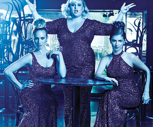 anna kendrick, brittany snow, and pitch perfect image