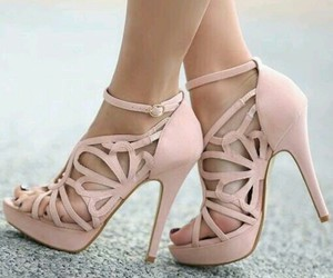 beautiful, fashion, and high heels image