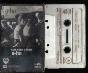 a-ha and cassette image