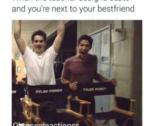 funny, brotp, and dylan o'brien image