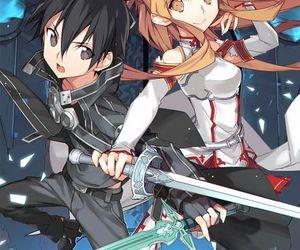 sao and sword art online image