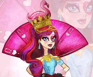 eah, ever after high, and way to wonderland image