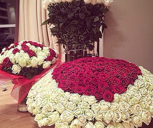 roses, flowers, and luxury image