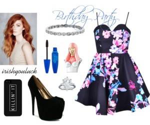 beauty, birthday, and dress image