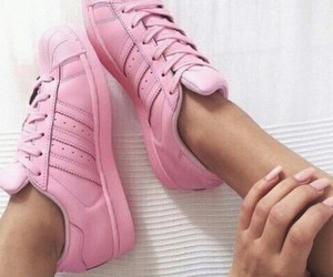 adidas, legs, and pink image