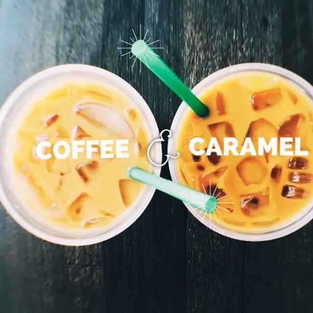 caramel, coffee, and coffee love image