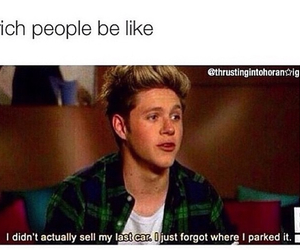 funny and niall horan image