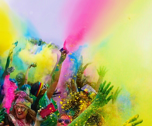 awesome, colors, and festival image