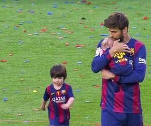 baby, football, and kids image