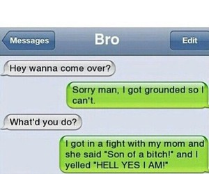 bro, funny, and grounded image