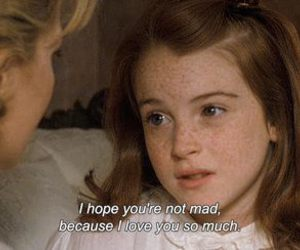 lindsay lohan, quotes, and the parent trap image