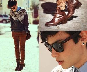 boy, shoes, and style image