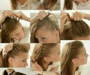 braids, hair, and inspiration image