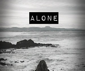 alone, background, and dark image